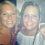 Sabine & Rianne, die-hard supporters