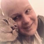 knuffelen met James de kat