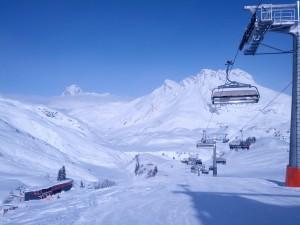 Perfecte sneeuwconditie